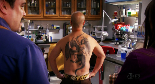 Masuka tatuaje