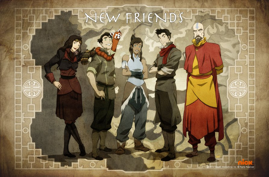 The Legend of Korra 4x12y 4x13 (Capitulos juntos) Vose Disponible