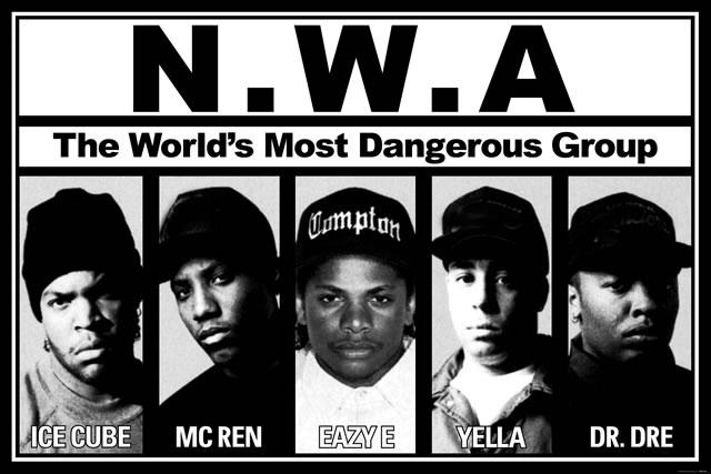 Los personajes de Straight Outta Compton