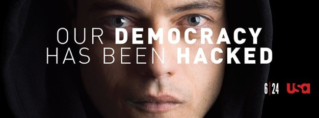 Mr Robot democracy hacked