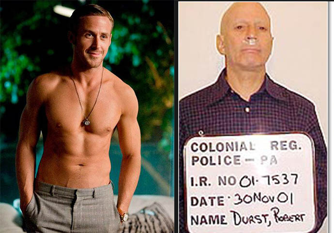 El parecido entre Gosling y Durst es indiscutible