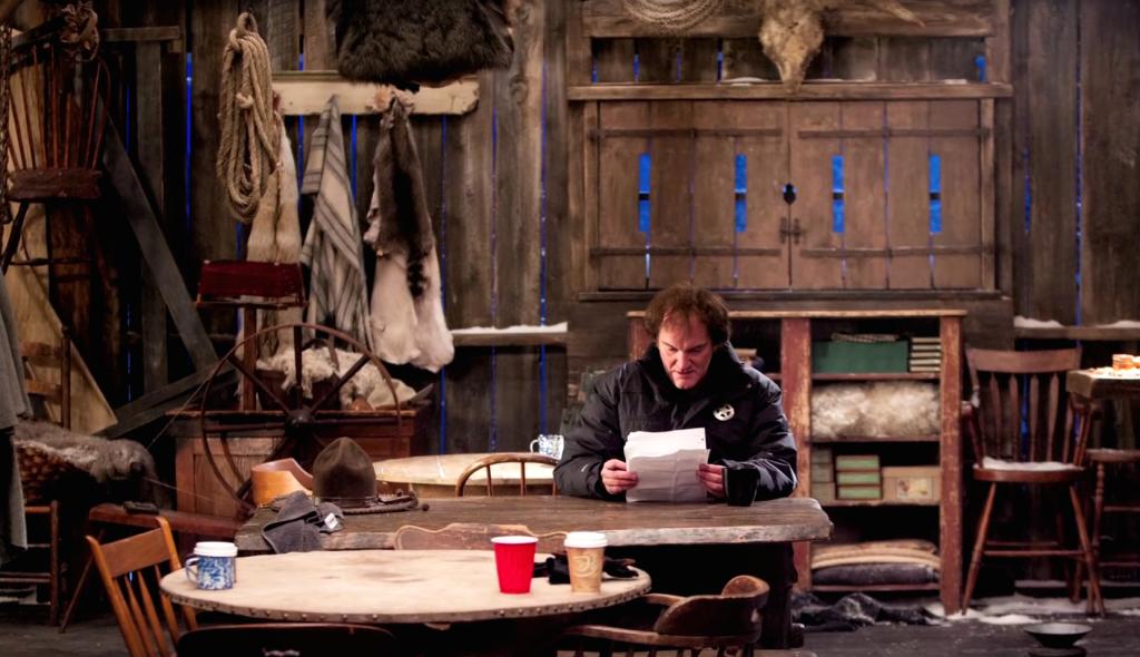 Quentin Tarantino en la Mercería de Minnie