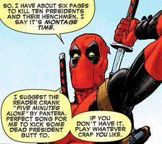 Deadpool pantera