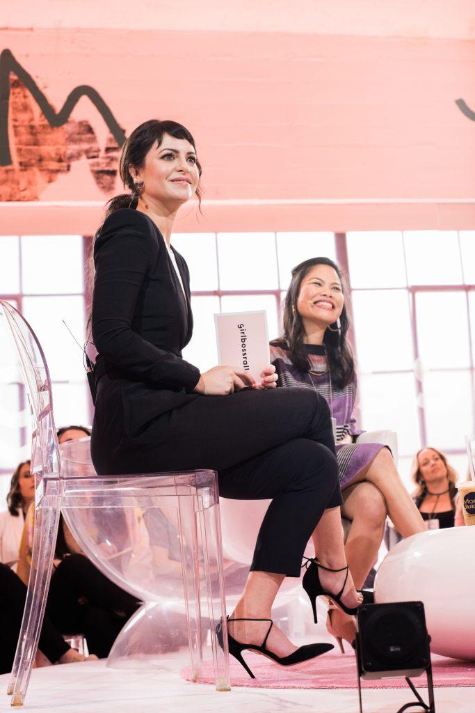 Sophia Amoruso en Girlboss Rally. Los Angeles. Foto por Laura Pardo