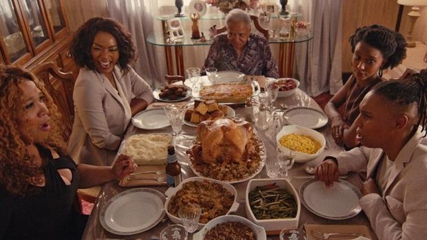 Denise y su familia